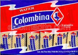 Galletas Colombina Wafers Puerto Rico