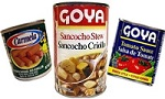 Puerto Rico Canned Food, goya casera habichuelas salsa de tomate corned beef