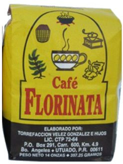 Cafe Florinata, Florinata Coffee from Puerto Rico