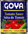 Puerto Rican Food Goya tomato sauce<br>8onz can