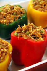 Pimientos Rellenos<br>Stuffed Peppers