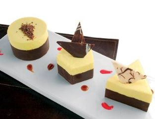 Flan de Queso<br>Chocolate Cafe