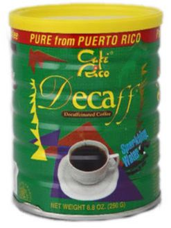 Cafe Rico Decaf from Puerto Rico  Puerto Rico