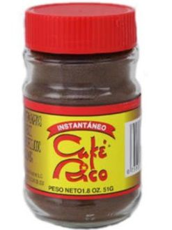 Dulces Tipicos Cafe Rico Instant Coffee 1.8onz Puerto Rico