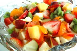 Fruit Salad<br>Lemon Honey Dressing
