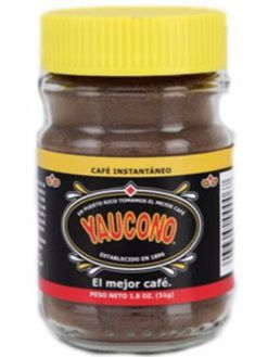 Dulces Tipicos Cafe Yaucono Instant Coffee 1.8onz Puerto Rico