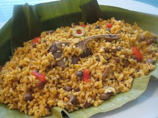 Arroz con Gandules<br>Rice and Green Pees