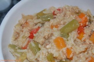 Arroz a la Jardinera<br>Rice with Vegetables