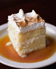 Receta Three Milk Cake/Tres Leches Puerto Rico