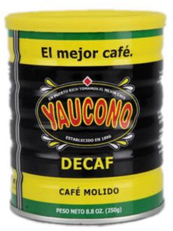 Cafe Yaucono Decaf from Puerto Rico  Puerto Rico