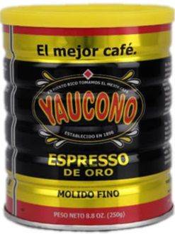 Cafe Yaucono Expresso from Puerto Rico  Puerto Rico