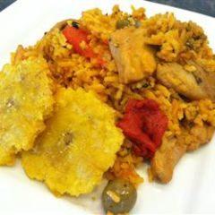 Arroz con Pollo<br>Rice with Chicken