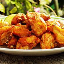 Recipe Chicharrones Pollo<br>Chicken Cracklings Puerto Rico