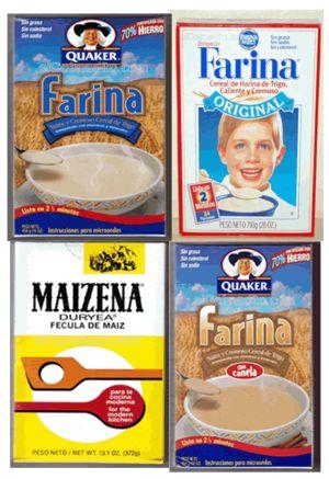 Farina breakfast cereal