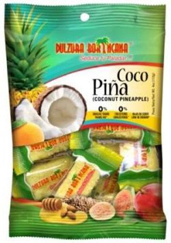coconut pineapple candy from Puerto Rico, Tipical Sweets from Puerto Rico Puerto Rico