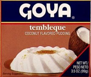 Tembleque Goya, Desserts and Recipes from Puerto Rico at elColmadito.com
