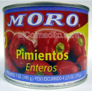 Pimientos Moro de Espa�a, Spanish red sweet peppers
