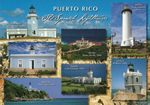 Old Spanish Lighthouses, Post Card Puerto Rico