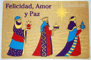 sc 1 st  elColmadito.com & The Three Kings Door Mat Puerto Rico Door Mat