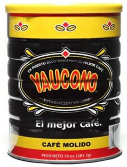Dulces Tipicos Cafe Yaucono in a Can, Yaucono Coffee in a Can Puerto Rico