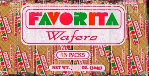 Galletas Wafers, Favorita Galletas Wafers Puerto Rico