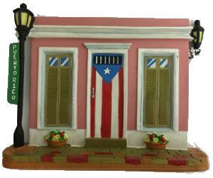 decorative shingle with folklore from puerto rico tejas. Black Bedroom Furniture Sets. Home Design Ideas