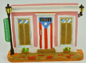 Dulces Tipicos Decorative Shingle with Folklore from Puerto Rico, Tejas Decorativas con Paisajes de Puerto Rico Puerto Rico
