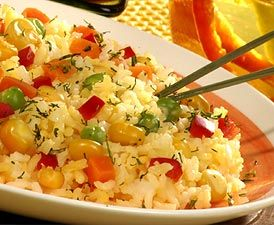 Arroz a la Jardinera<br>Rice with Vegetables 1