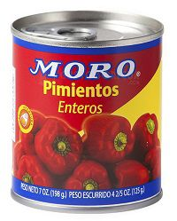Pimientos Moro de España, Spanish red sweet peppers