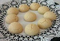 Receta Polvorones, ball shaped cookies Puerto Rico