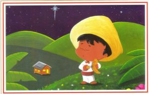 Puerto Rico Art, Postales de Navidad, Christmas Cards from Puertorican Artists