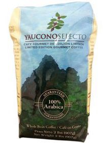 Cafe Yaucono Selecto from Puerto Rico, Puertorican Whole Beans Coffee Puerto Rico