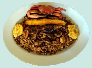 Arroz Marinero<br>Rice with Seafood