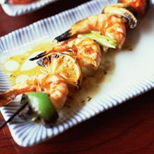 Recipe Shrimp on Skewers Puerto Rico