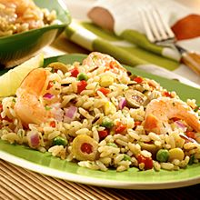 Rice and Shrimp<br>Salad