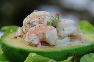 Shrimp stuffed<br>Avocado