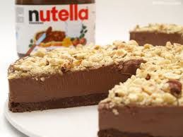 Cheesecake<br>Nutella