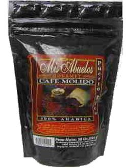 Cafe mis Abuelos, Mis Abuelos Coffee from Puerto Rico