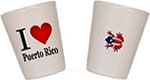 Puerto Rico Souvenirs Shot Glasses and Coffee Mugs