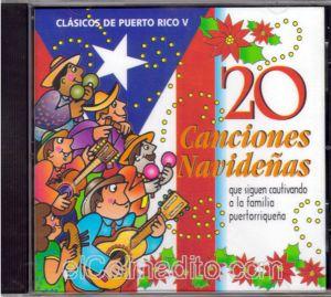 clasicos de puerto rico vol v 20 canciones navideas puertorican christmas music puerto rico - Puerto Rican Christmas Music